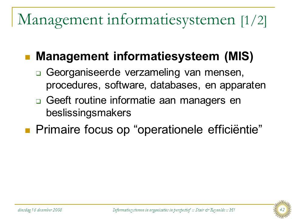 Management informatiesystemen [1/2]